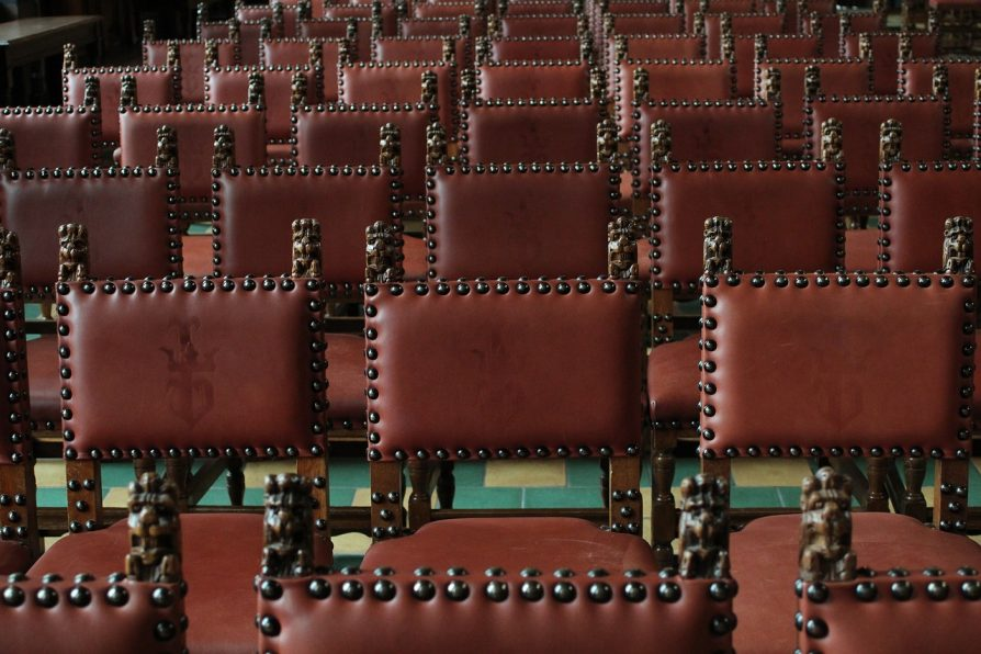 antique leather boardroom chairs