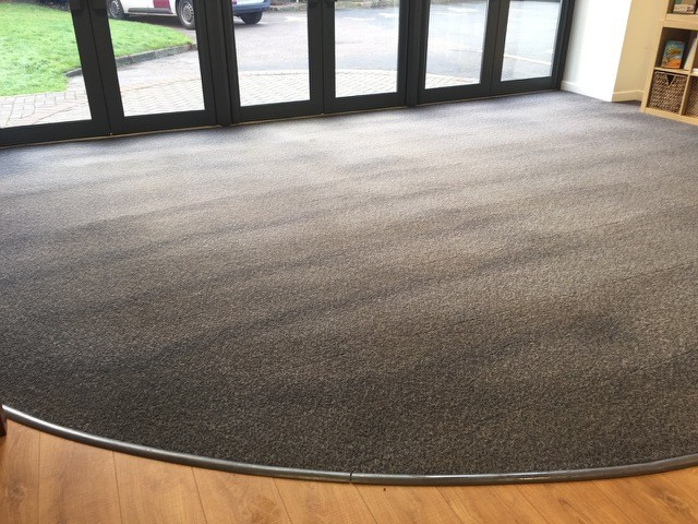 Reception after SJS carpet cleaning