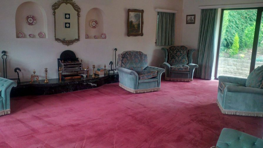 wool carpet cleaned by SJS
