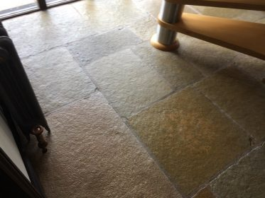 Stone Floor Cleaning by SJS