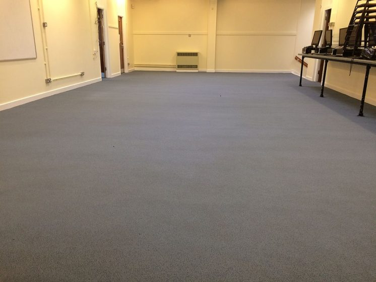 School Computer Room Carpet Fully Cleaned
